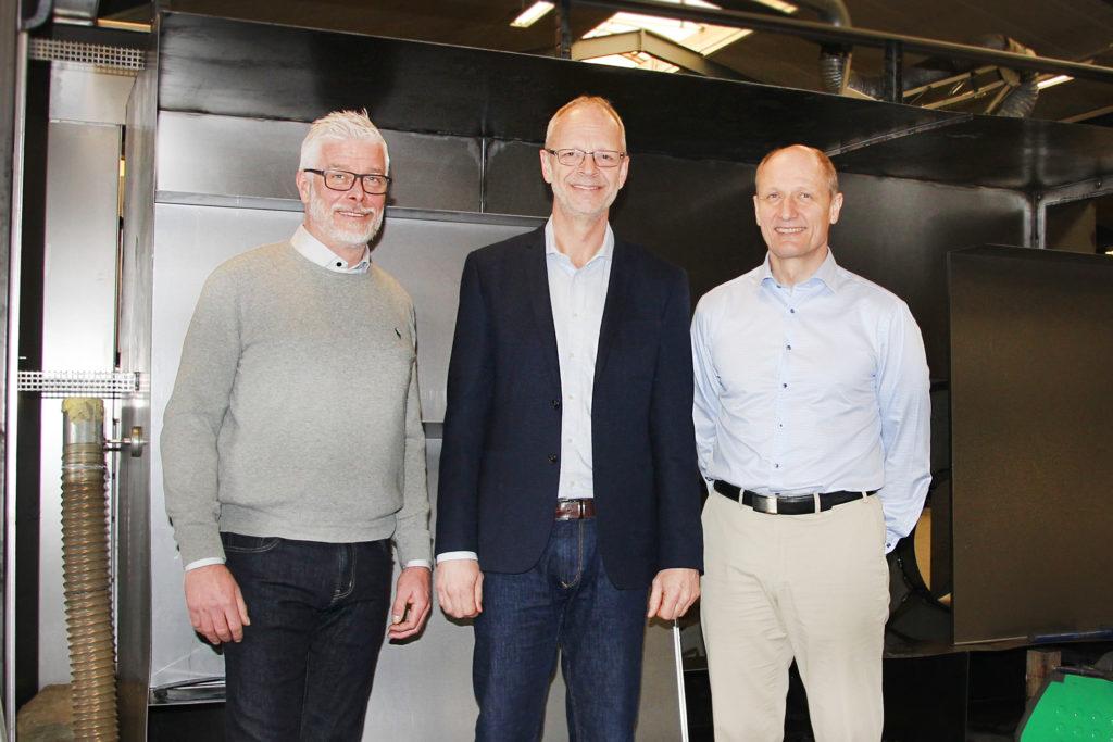 Från vänster: Claus Aabo Andersen, Per R. Rasmussen, Gunnar Lassen